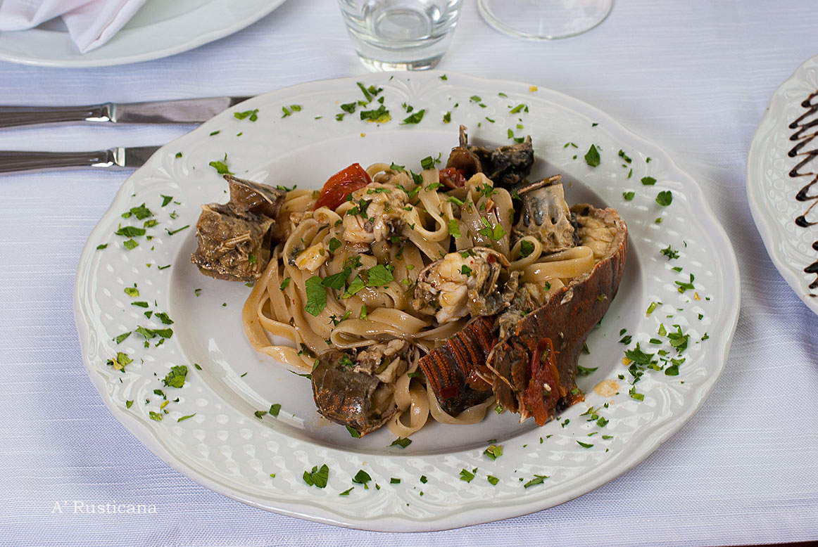 "Fettuccine (form of pasta) ""Alla Zoccola"""