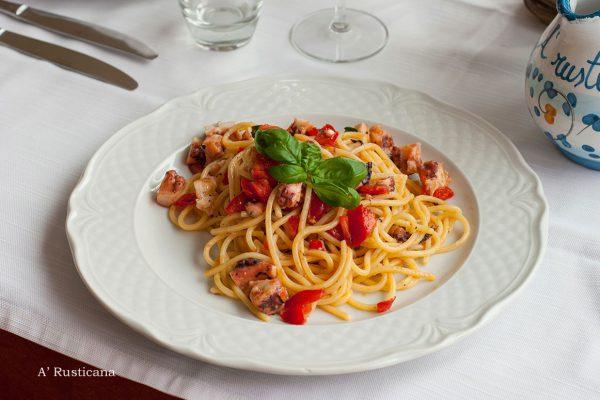 Spaghetti alla Rusticana