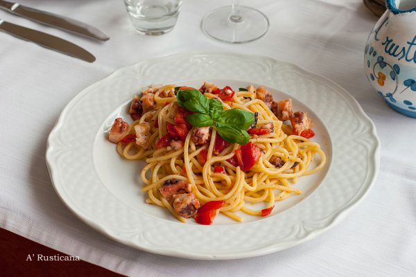 Spaghetti «Rusticana»